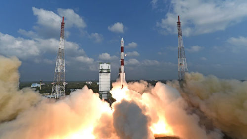 ISRO rocket lifts off with Cartosat, 30 other satellites