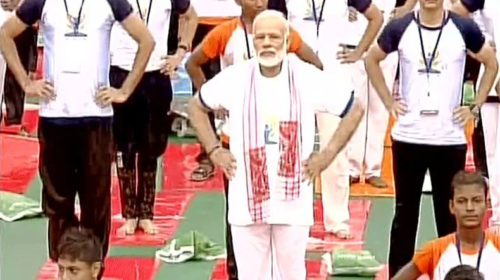 International Yoga Day 2017: Yoga great medium to bring cohesion in the society, says PM Modi in Lucknow