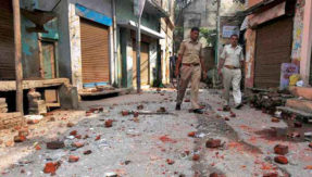 Stone pelting in Valley down by 90% in 2017: J&K DGP SP Vaid