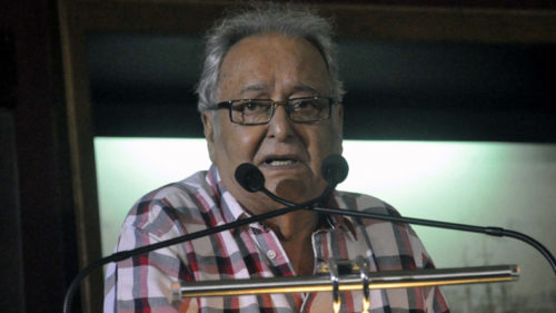 Legendary actor Soumitra Chatterjee to be conferred with Legion of Honor