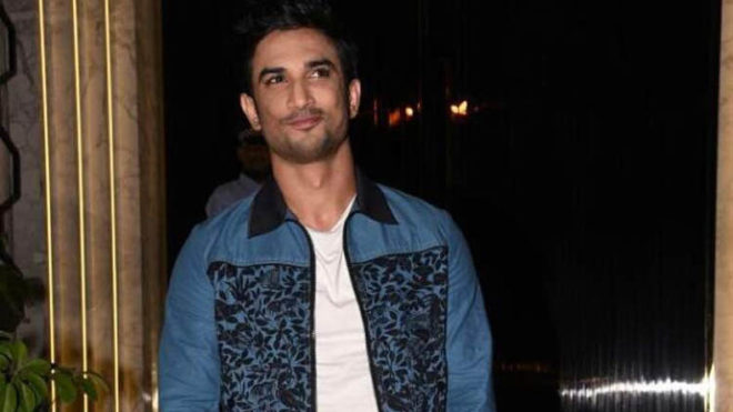 Mumbai: Actor Sushant Singh Rajput arrives for the opening of a restaurant designed by Gauri Khan in Mumbai on June 18, 2017. (Photo: IANS)