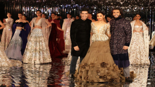 ICW royalty unveils: Alia, Ranveer showstoppers at Manish Malhotra's show