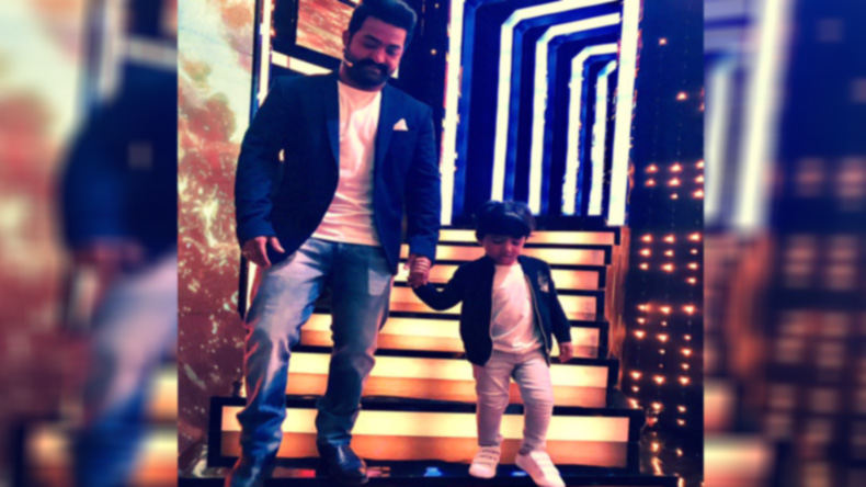 Jr. NTR rings in son's b'day on sets of Bigg Boss Telugu