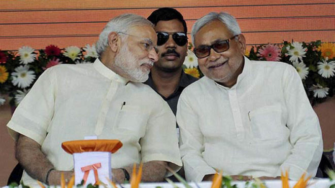 As PM Modi lauds Nitish for 'joining the fight against corruption', is a new alliance on cards in Bihar?