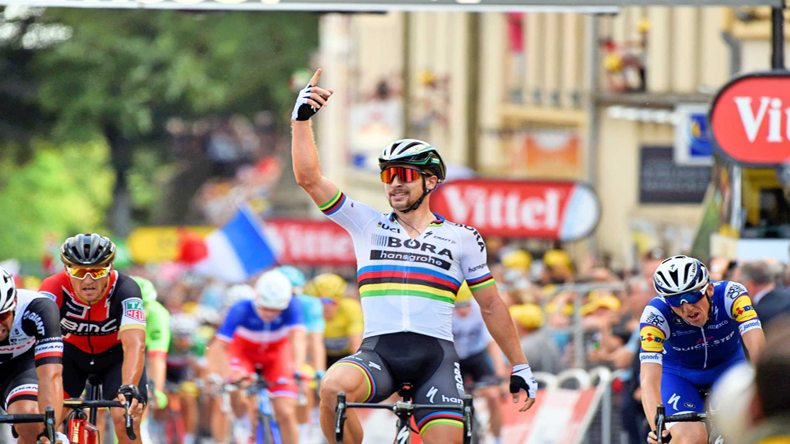 Sagan wins Tour de France 3rd stage