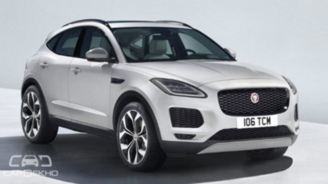 Aimed at younger demographic, Jaguar reveals E-Pace