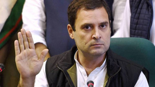 Congress' Rahul Gandhi questions PM Modi's 'silence' on China issue