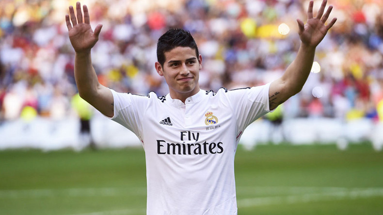 In signing James Rodriguez, Bayern hope for return of 'Robben effect'
