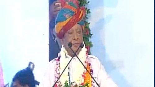 I will not join any other political party: Shankarsinh Vaghela at Gandhinagar