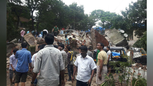 Mumbai: Residential building collapses in Ghatkopar; over 30 feared trapped