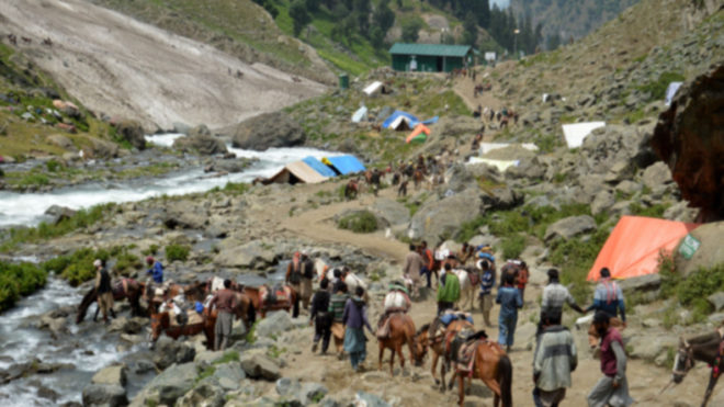 Amarnath pilgrim killed, 15 injured in bus gas cylinder blast