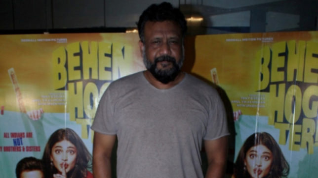 Mumbai: Filmmaker Anubhav Sinha during the screening of film Behen Hogi Teri in Mumbai, in Mumbai, on June 7, 2017. (Photo: IANS)