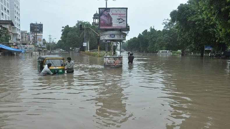 Incessant rain hits Gujarat, over 25,000 people rescued so far