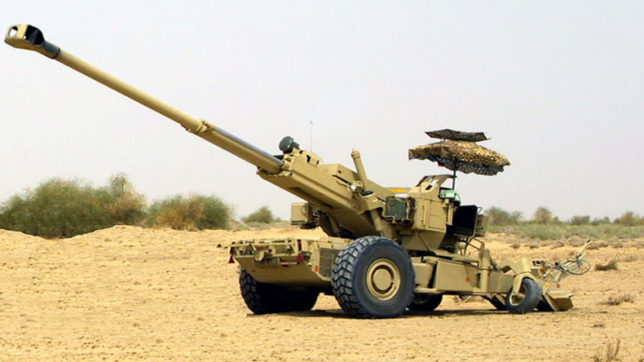 Army conducts field trials of ultra-light howitzers received from United States