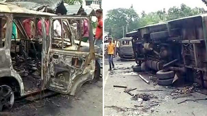 West Bengal communal clashes: Violence escalates, section 144 imposed in Basirhat and other areas