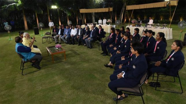 PM Modi greets Indian women cricketers, lauds them for their spectacular performance