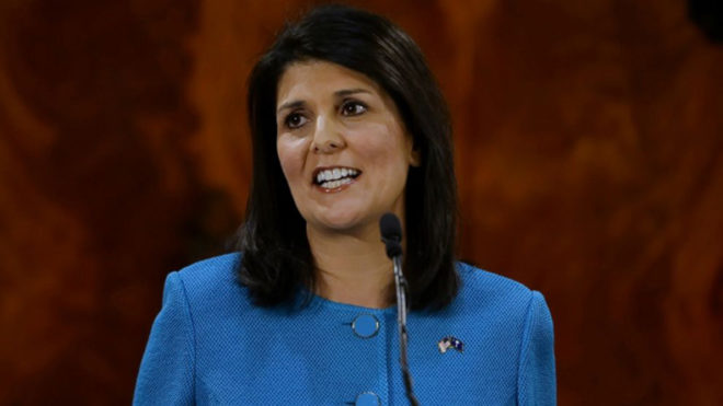 North Korea missile launch clear, sharp military escalation, says Nikki Haley