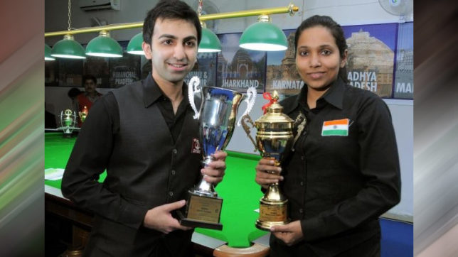 Snooker: Chennai Strikers bag Pankaj Advani and Vidya Pillai