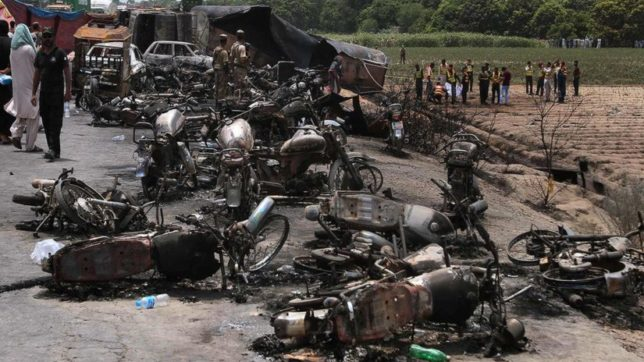 Death toll in Pakistan tanker explosion reaches 206