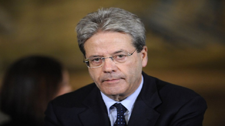 Italian PM Paolo Gentilonicalls for global efforts on migration