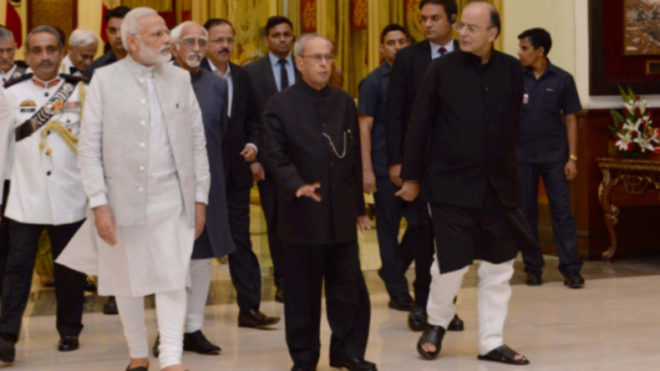 Pranab Mukherjee to be given farewell in Parliament on Sunday