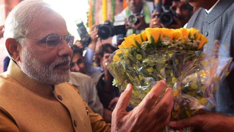No bouquet to be presented to PM Modi during tours: Home Ministry to states