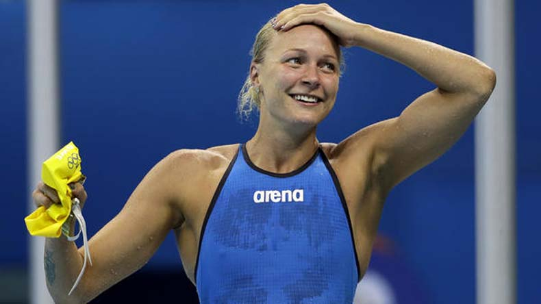 17th FINA World Championships: Sjostrom bags gold in 100m butterfly