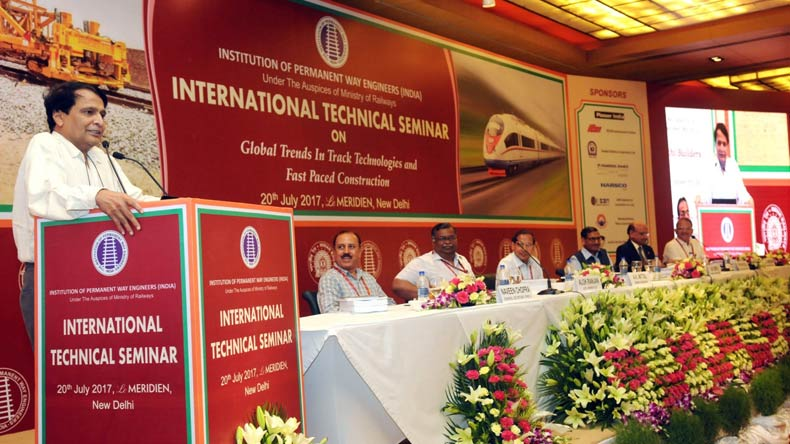 Need to catch up with changing railway technology, says Suresh Prabhu
