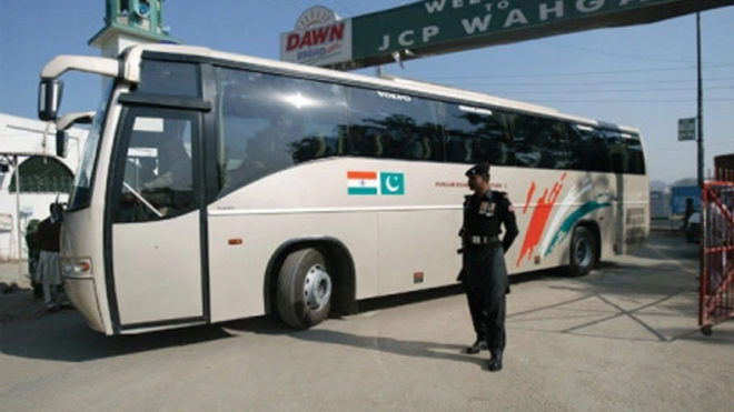India-Pakistan bus service suspended due to tension on LoC