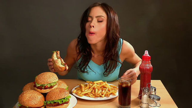 Why do women fall prey to eating disorders?