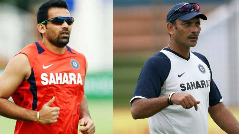 Ravi Shastri appointed new head coach and Zaheer Khan is bowling coach