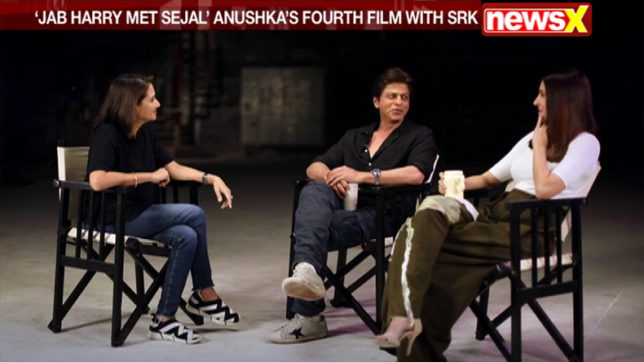 At the Movies with Anupama Chopra: Jab Harry Met Sejal stars SRK and Anushka share their experiences