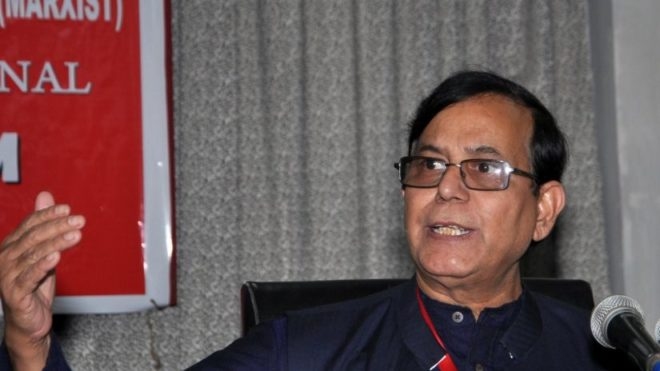 CPI-M's Mohd. Salim blames centre, Mamata and media for plight of Bengal flood victims