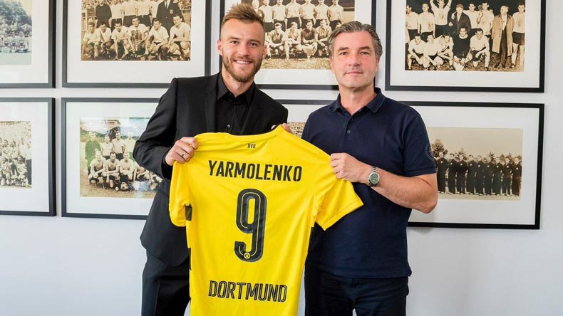 Andriy Yarmolenko set for Borussia Dortmund switch