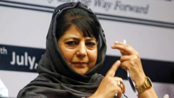 J&K-CM-Mehbooba-Mufti-calls-on-Farooq-Abdullah-to-discuss-political-situation