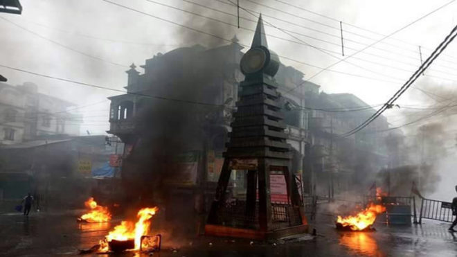 Attempt to blow up truck in Bengal's Kalimpong