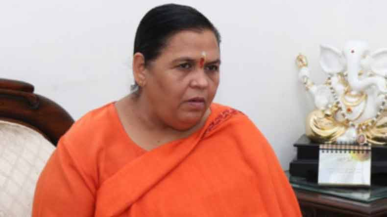 Ken-Betwa linking project ready for launch, says Uma Bharti   Image source IANS