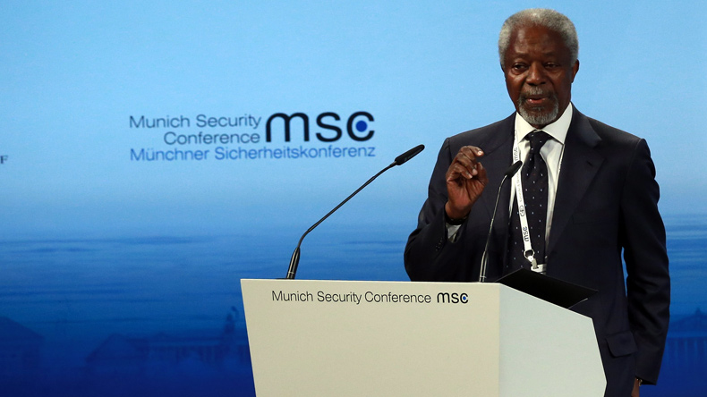 Myanmar tensions: Annan warns on Rakhine 'radicalisation'