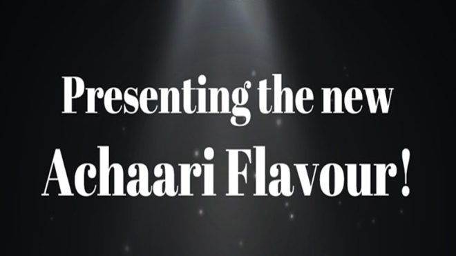 Here's why people are going ga-ga over this 'Achaari' flavour