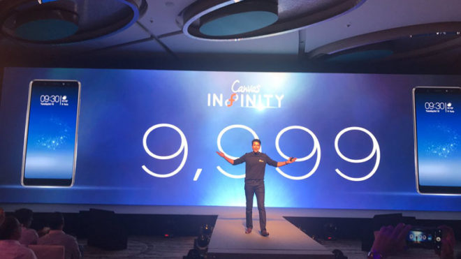 Micromax launches 'Canvas Infinity' with 18:9 aspect ratio