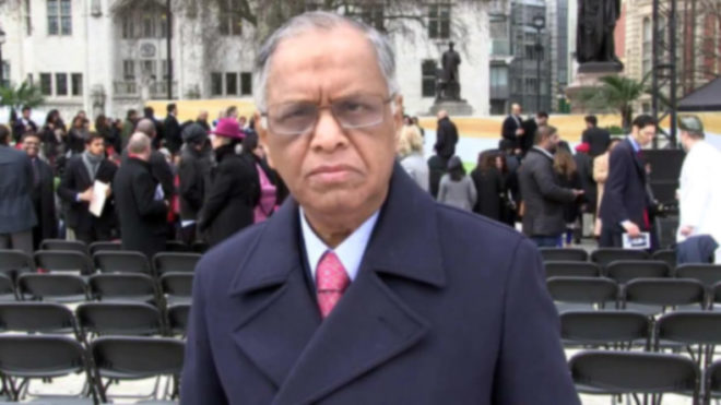 Narayana Murthy slams the allegations made by Infosys by calling it 'baseless insinuations'