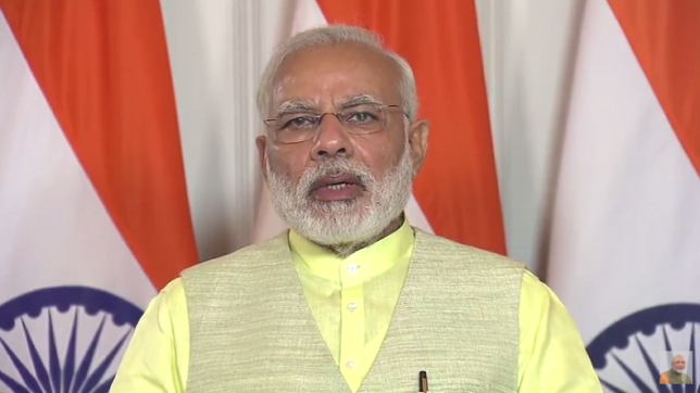 PM Modi's speaks at 'Samvad'-a global initiative on conflict avoidance & environment