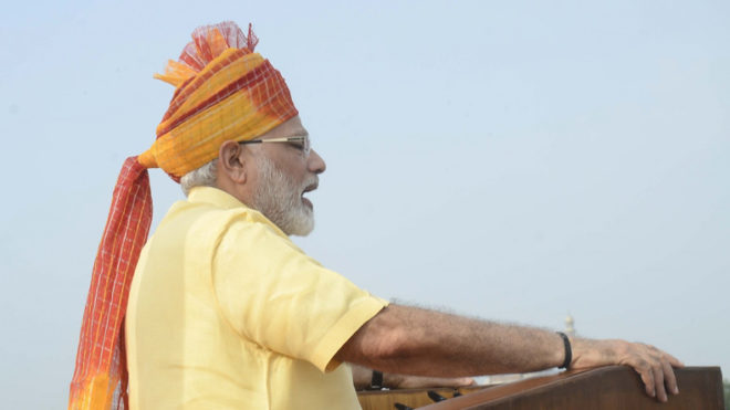 Maharashtra lawyer files plea terming PM's Independence-Day speech unconstitutional