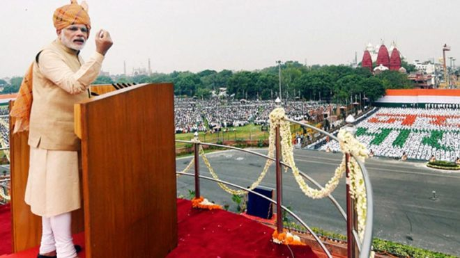 Independence Day 2017: PM calls for 'New India' free of terror, communalism