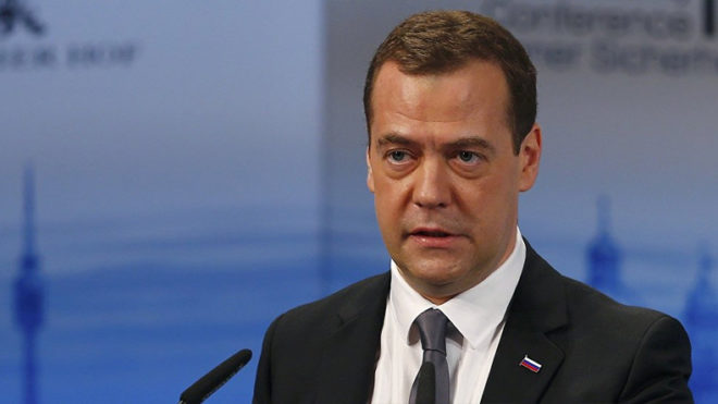 US wages full-scale trade war against Russia: PM Dmitry Medvedev
