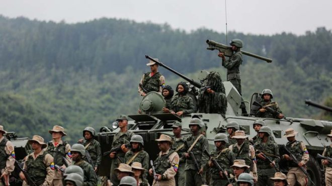 Venezuela gets battle ready in case of foreign invasion