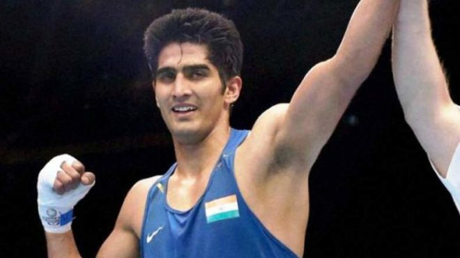 Vijender Singh beats China's Zulpikar Maimaitiali to extend winning run