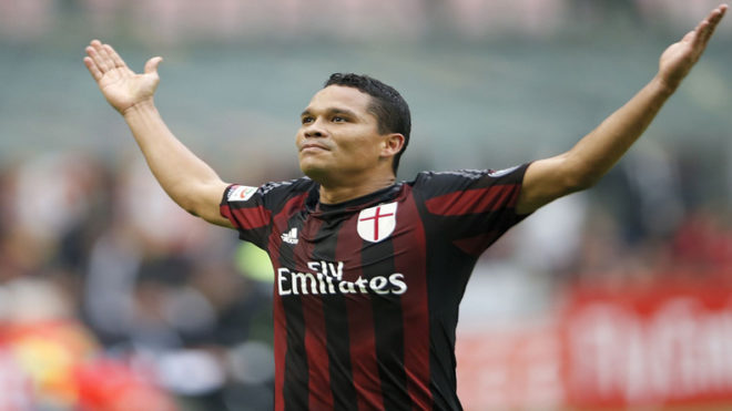 Villarreal signs Carlos Bacca on loan from AC Milan
