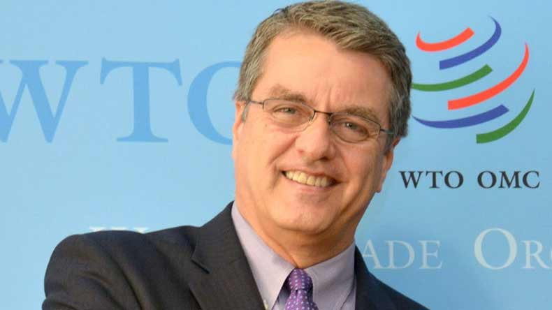 WTO chief Roberto Azevedo warns 'clear risk' of trade war