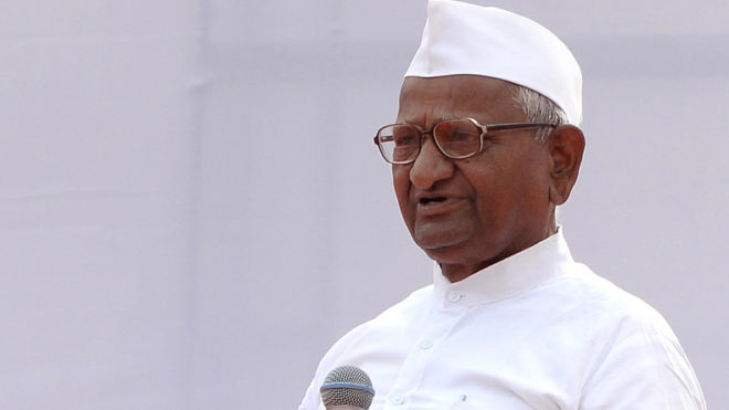 Upset with PM Narendra Modi, Anna Hazare to protest in Delhi